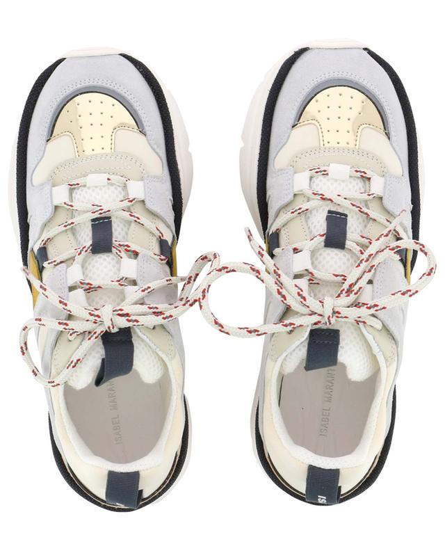 Kindsay multi material sneakers ISABEL MARANT