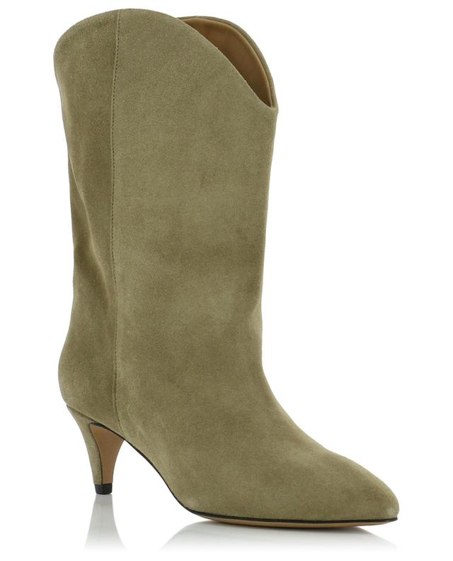 a546f4fe88 ISABEL MARANT Dernee slouchy suede ankle boots - Bongénie-Grieder
