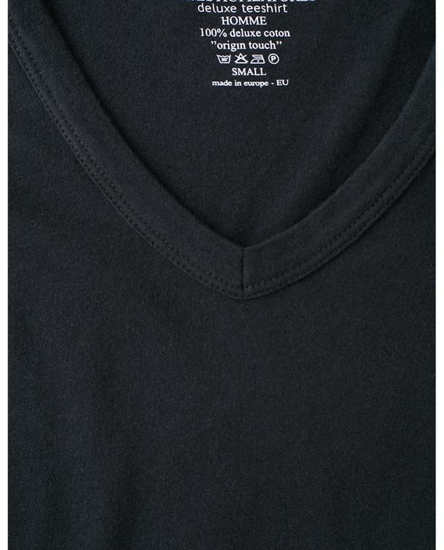 V-neck cotton jumper MAJESTIC FILATURES