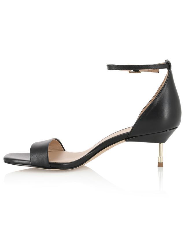 Birchin leather sandals with kitten heel KURT GEIGER LONDON