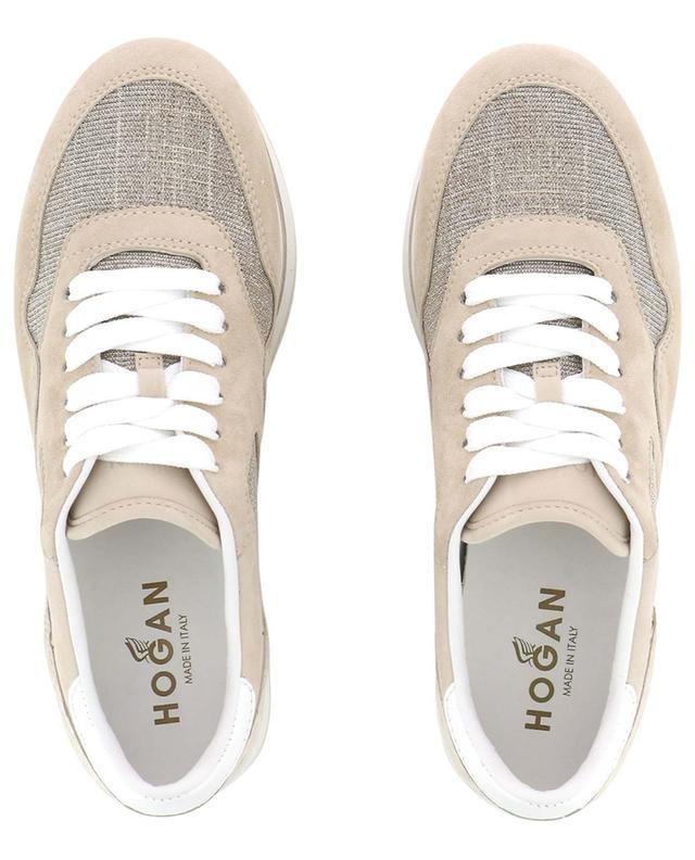 Sneakers aus Lurex, Wildleder und Leder H222 HOGAN