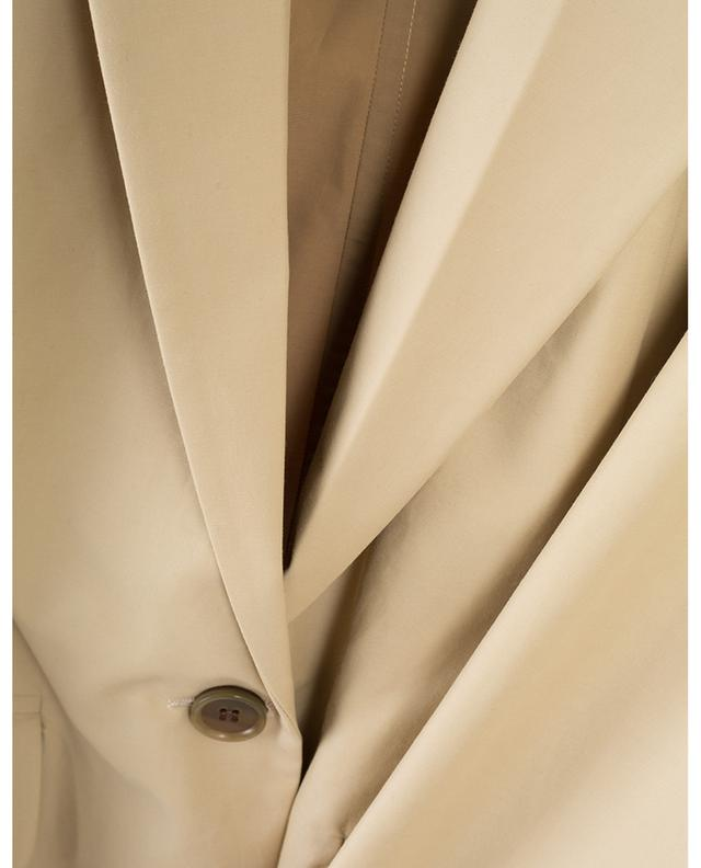 Materialmix-Blazer mit Kapuze BARBARA BUI