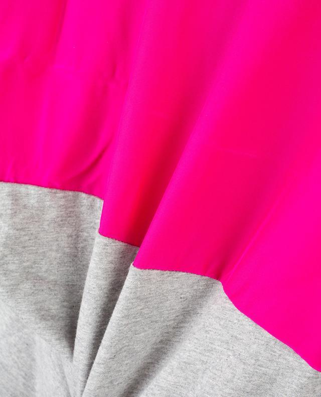 Rundrücken-T-Shirt mit Seideneinsatz BARBARA BUI