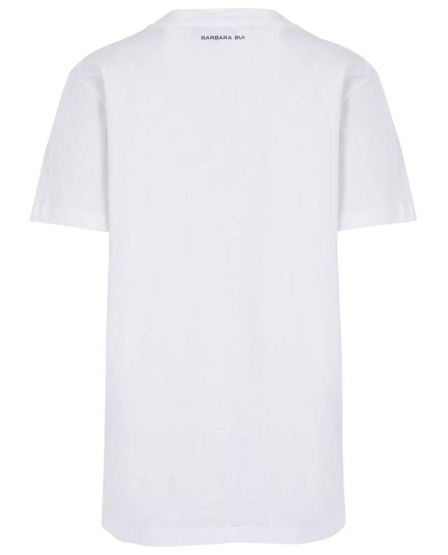 One size fits all T-shirt with piercing detail BARBARA BUI