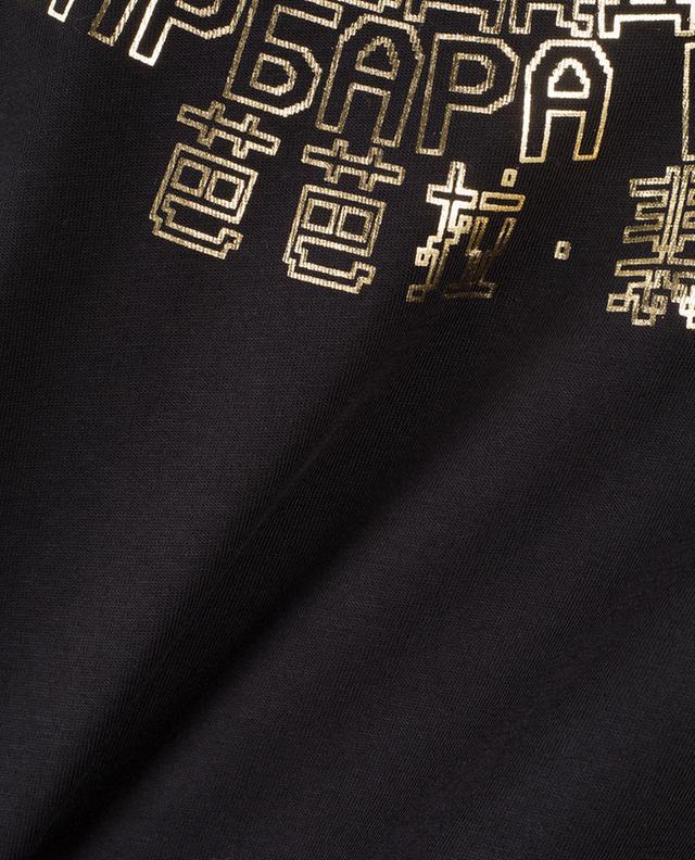 T-Shirt mit Logoprint in drei Sprachen BARBARA BUI