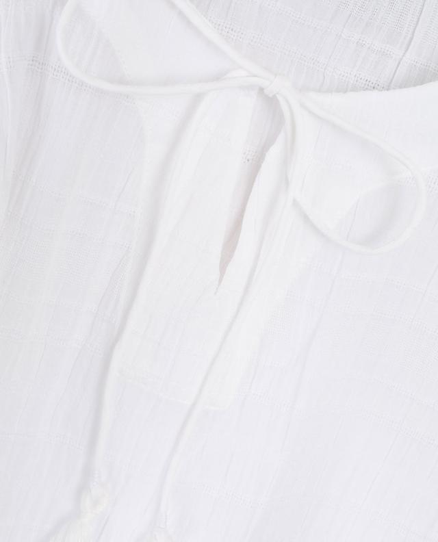 Caftan en coton texturé Noemi SKIN