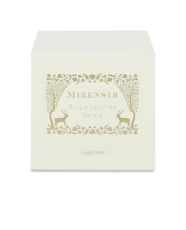 Mizensir bois dor scented candle white a12125