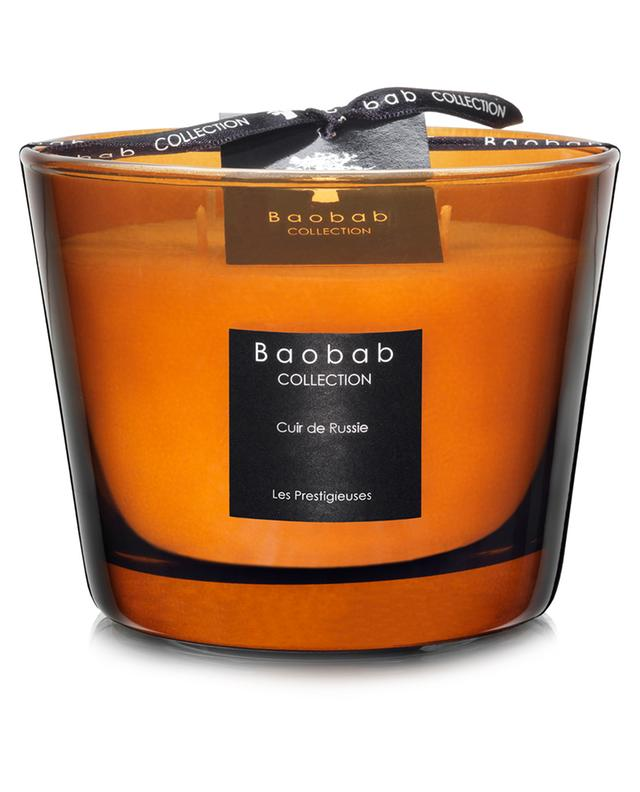 Bougie parfumée Cuir de Russie Max 10 BAOBAB