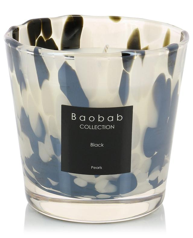 Pearls Black Max One scented candle BAOBAB