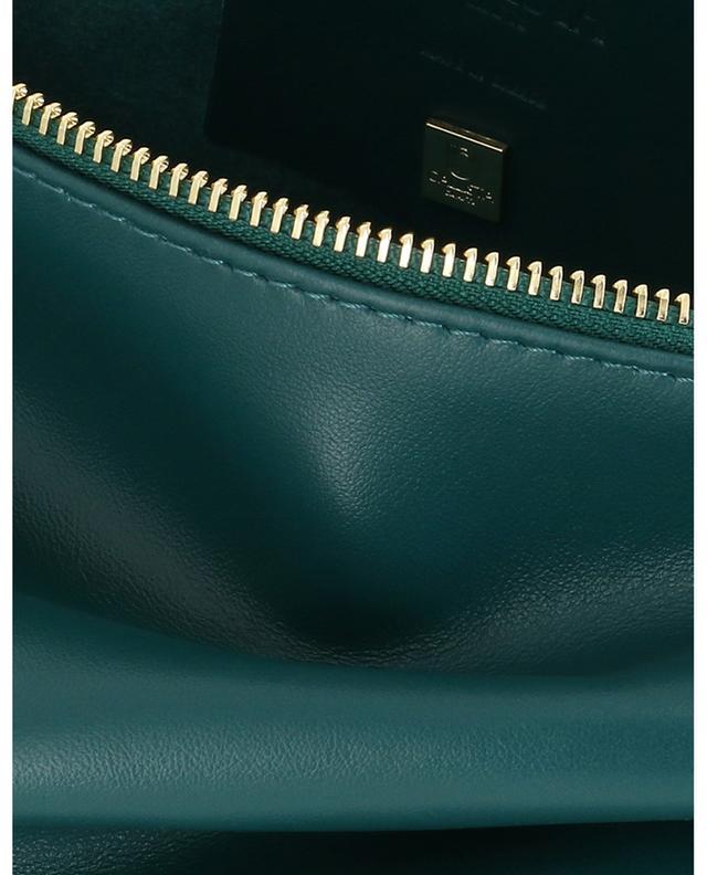 Clutch aus Leder Maxi Pochette CALLISTA