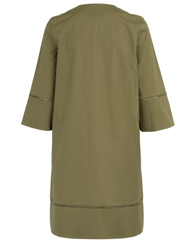 Straight tunic spirit dress with openwork stitching TWINSET