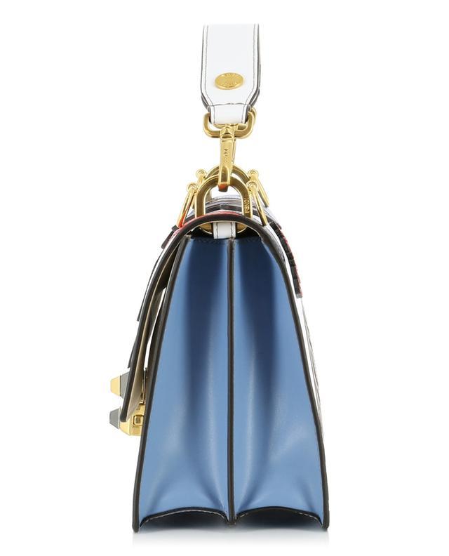 bd398b066526 FENDI Kan I Fendi Mania leather shoulder bag - Bongénie-Grieder