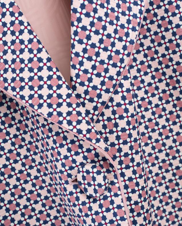 Veste en soie imprimée Romantic Tiles FENDI