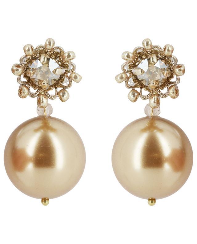 Ohrringe mit Perlen Blanche SATELLITE