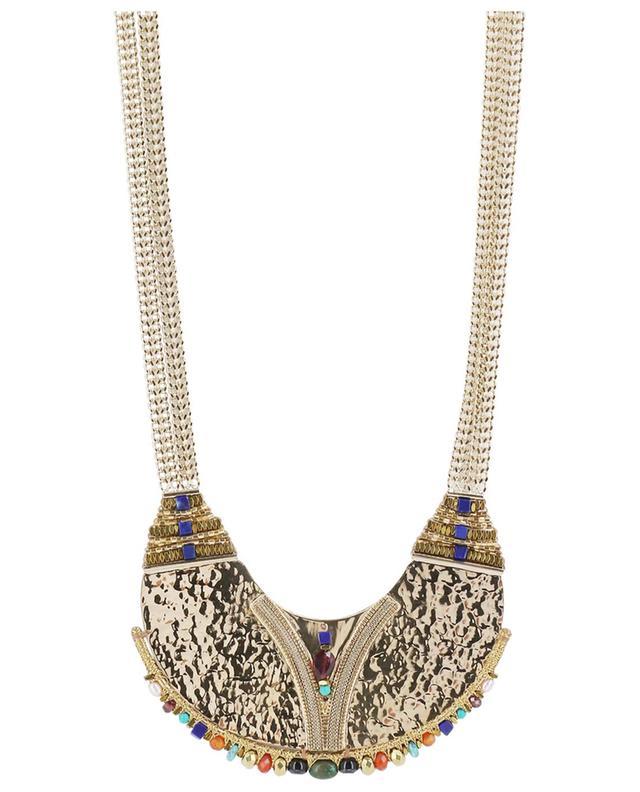 Dakota ethnic golden necklace SATELLITE