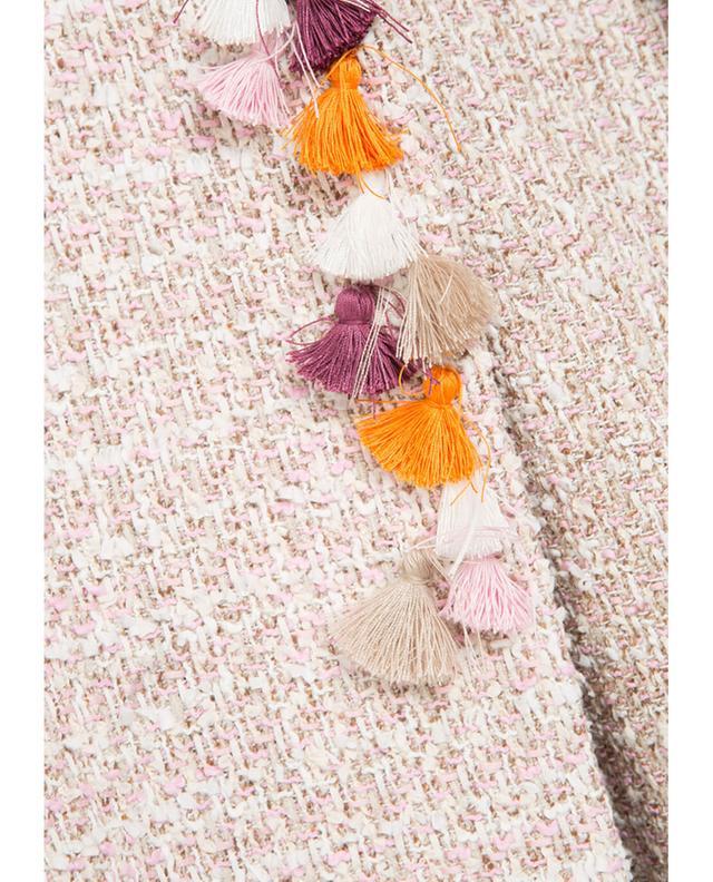 Ursula onorati tweed jacket pink A12264-ROSE