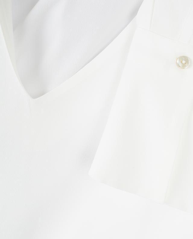 Blouse en soie avec foulard amovible Giambo IBLUES