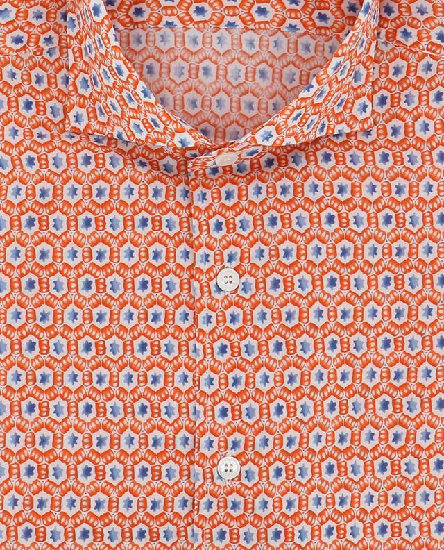 Sean slim fit star print shirt FEDELI