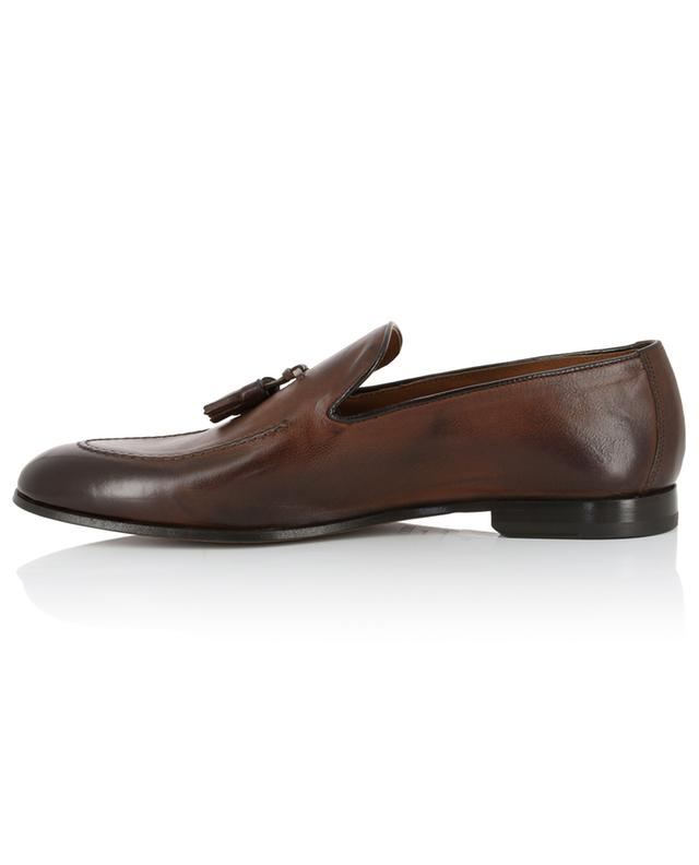 Chetta tasseled grained leather loafers DOUCAL'S