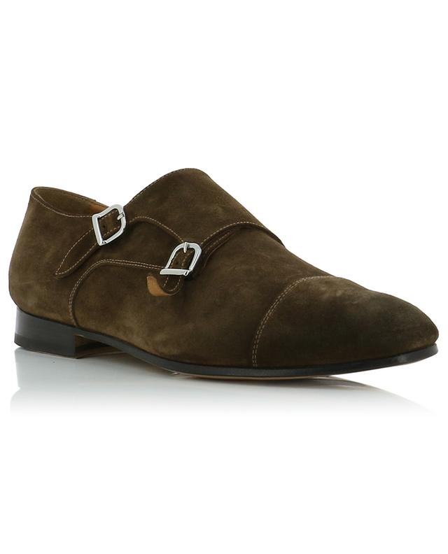 Light Point suede monk strap shoes DOUCAL'S