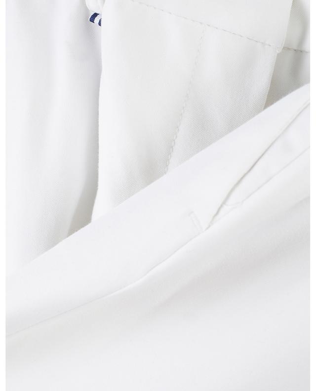 Pantalon droit en coton mélangé Pisa PAMELA HENSON