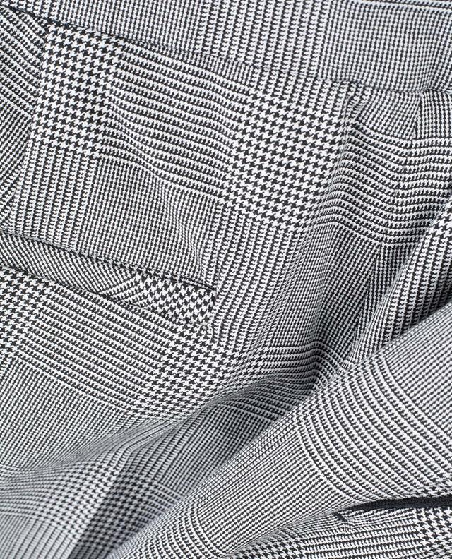 Pantalon à carreaux prince-de-galles Brera PAMELA HENSON