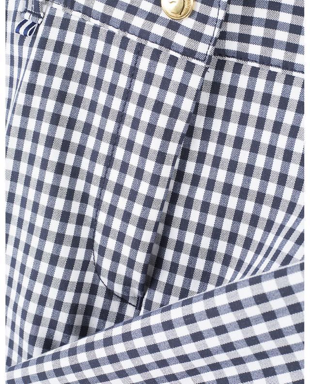 Short à carreaux en coton stretch Lara PAMELA HENSON