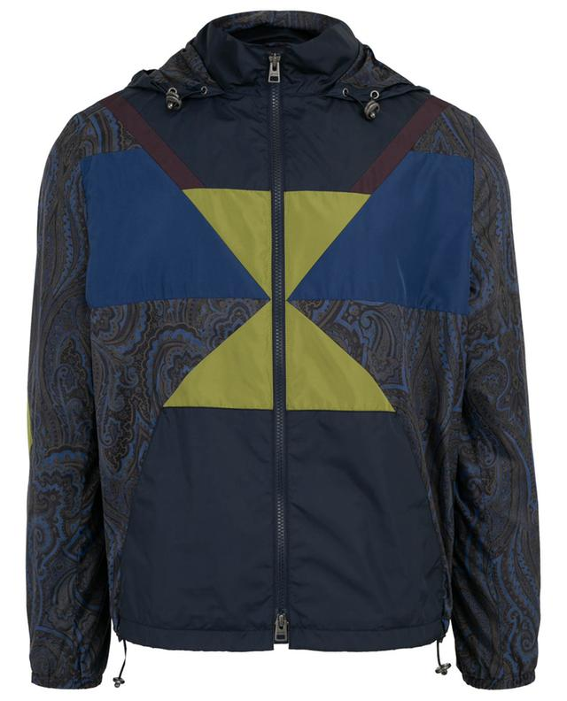 Veste coupe-vent patchwork Superleggera ETRO