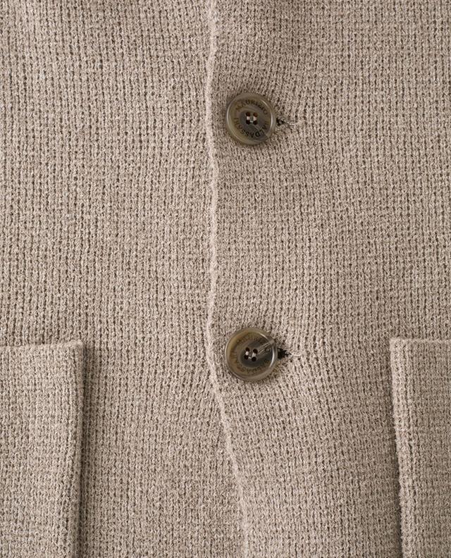 Blazer souple en coton chiné Lincoln MAURIZIO BALDASSARI