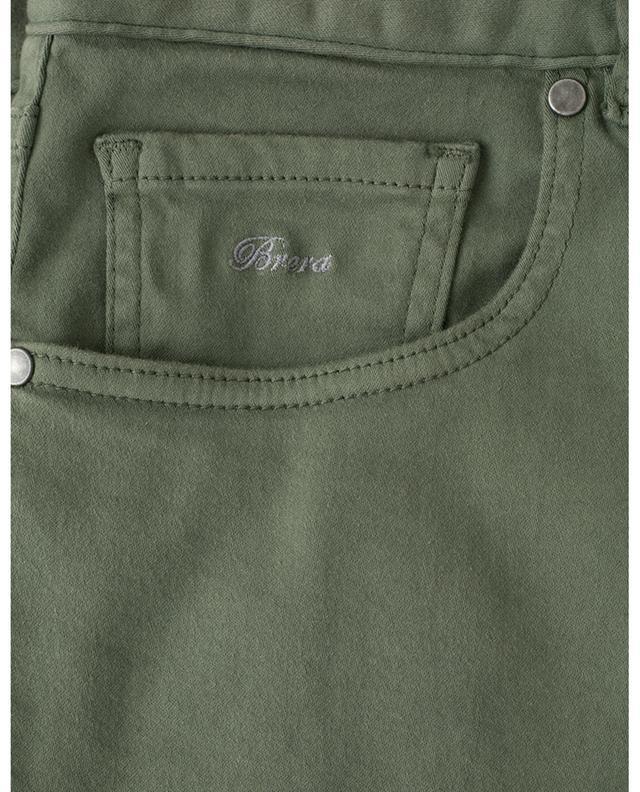 Pantalon en coton et soie mélangés MAURIZIO BALDASSARI