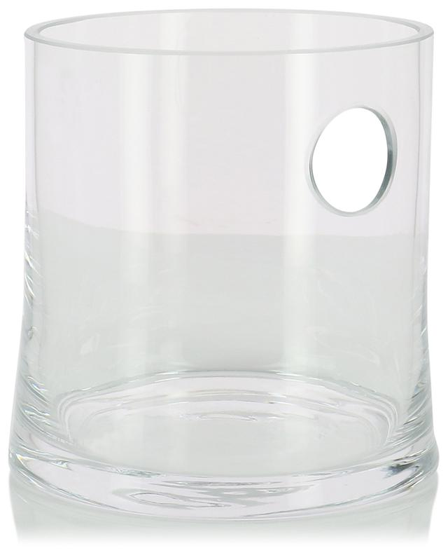 Gin mouthblown glass ice bucket LSA