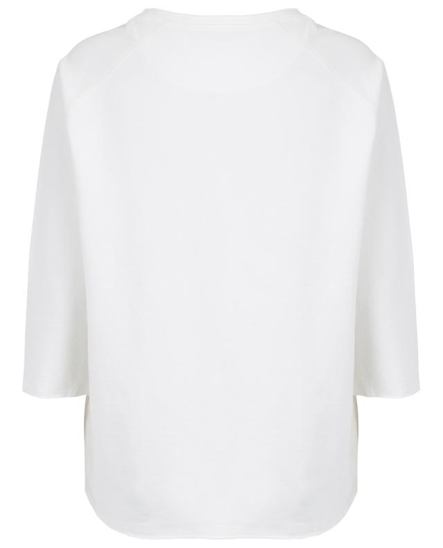 Oversized cotton jersey top HEMISPHERE