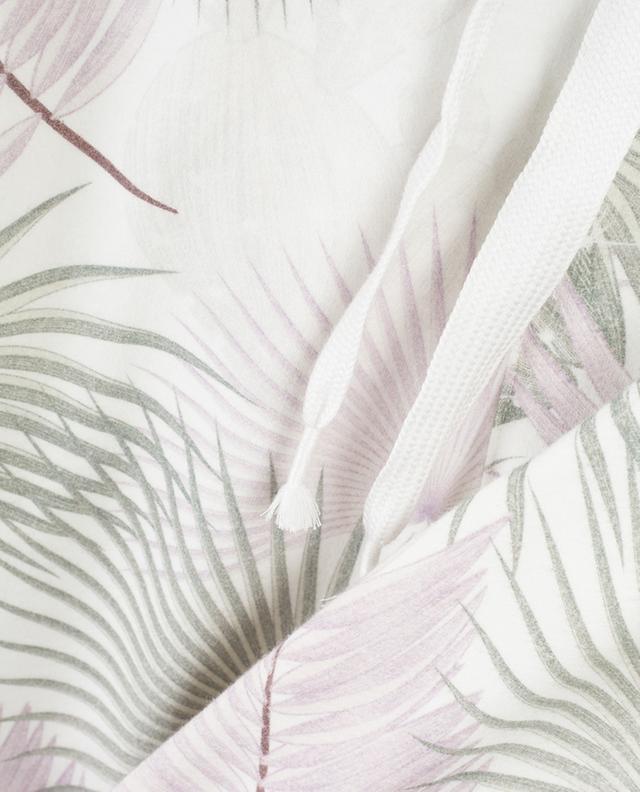 Palm print adorned  jogging trousers HEMISPHERE