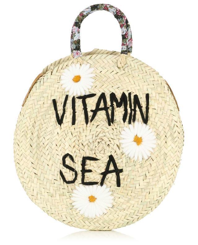 Medium Vitamin Sea wicker handbag MANA SAINT TROPEZ
