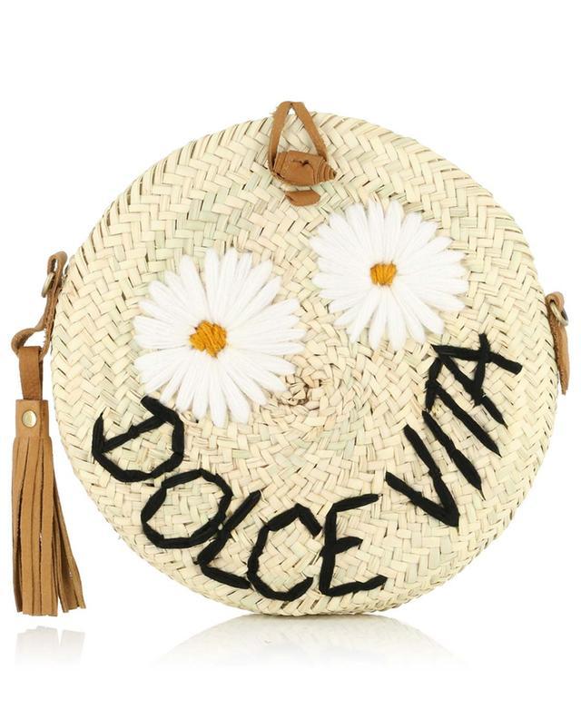 Dolce Vita wicker shoulder bag MANA SAINT TROPEZ