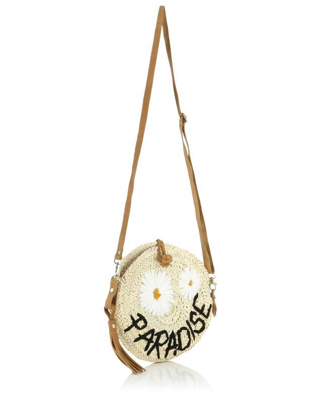 Paradise small wicker shoulder bag MANA SAINT TROPEZ