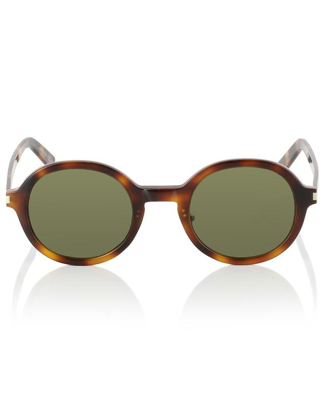 SL 161 Slim 002 tortoise effect sunglasses SAINT LAURENT PARIS