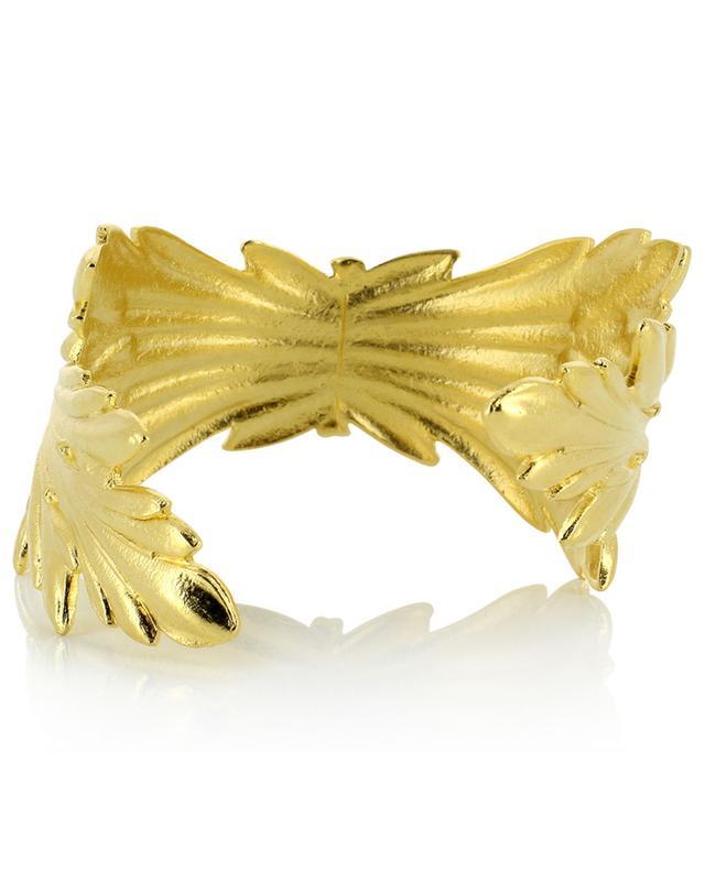 Manchette dorée à l'or fin Ambre COLLECTION CONSTANCE