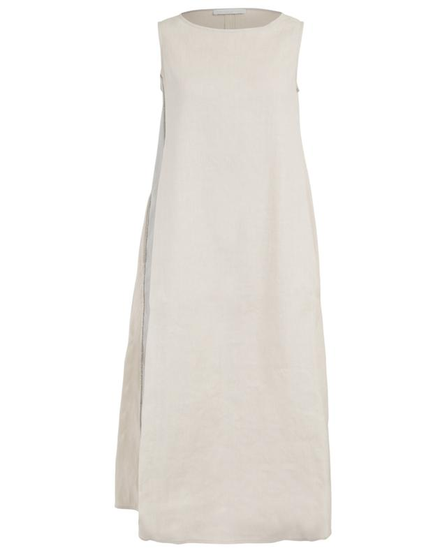 Long linen and cotton blend dress FABIANA FILIPPI