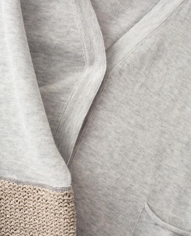 Cardigan fin en coton avec strass FABIANA FILIPPI