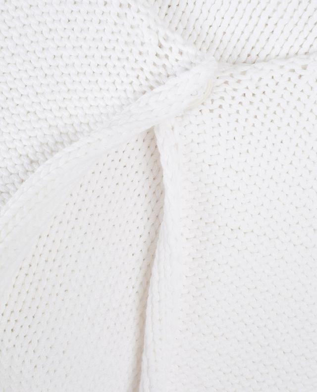 Cotton garter stitch cardigan FABIANA FILIPPI