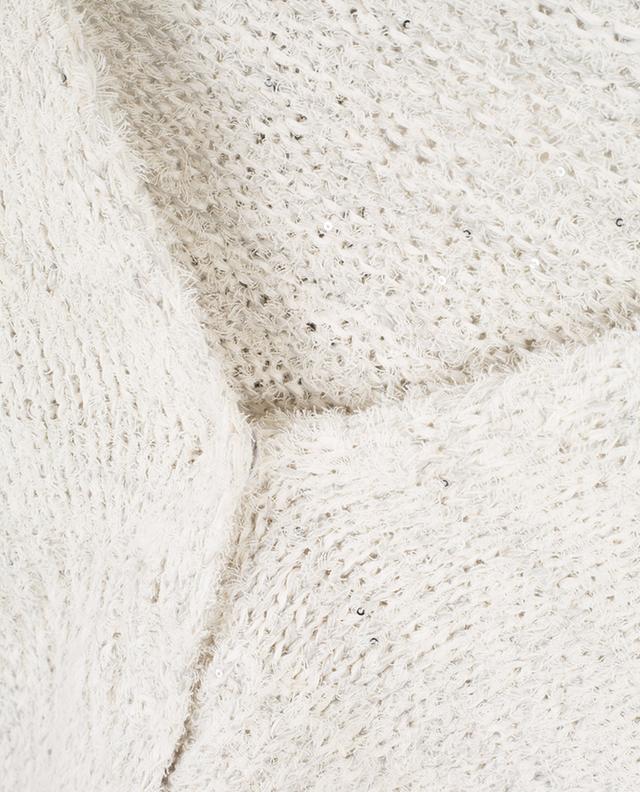 Short sequin embroidered cardigan FABIANA FILIPPI