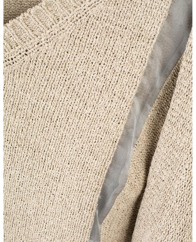 Pull en coton avec empiècement en organza FABIANA FILIPPI