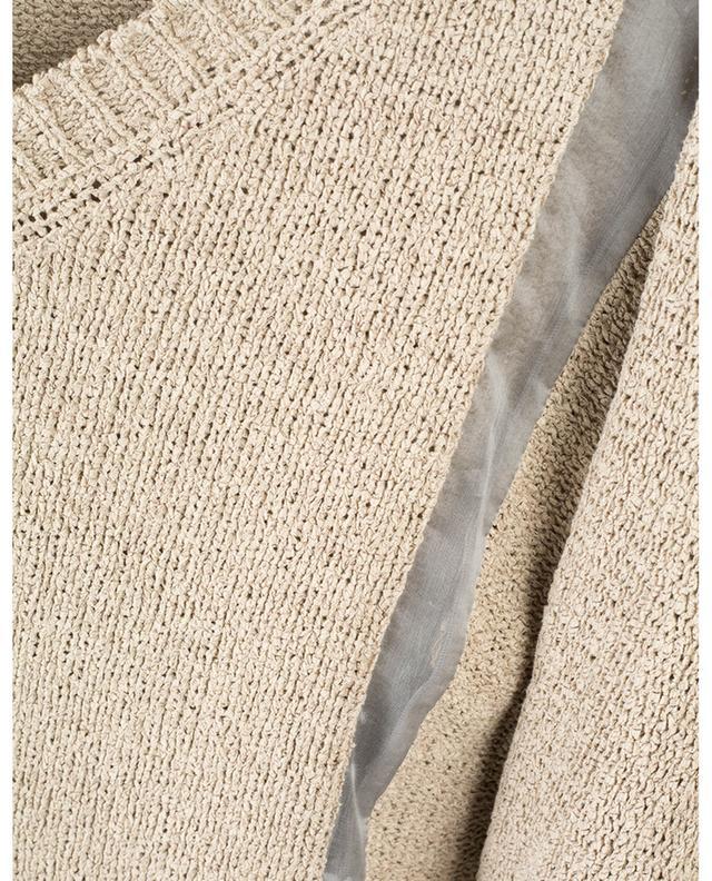 Cotton jumper with organza yokes FABIANA FILIPPI