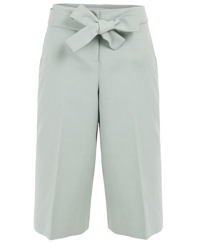Cropped wide-leg cotton trousers FABIANA FILIPPI