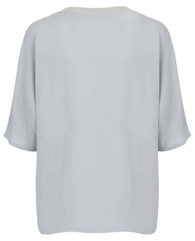 Breezy top with asymmetric V-neck FABIANA FILIPPI