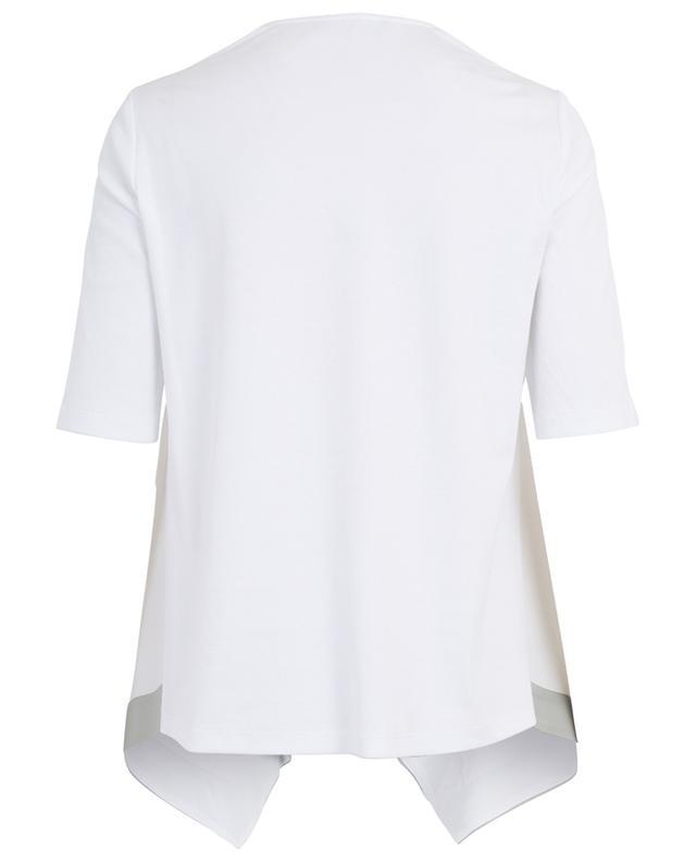 Cotton and silk asymmetrical top FABIANA FILIPPI