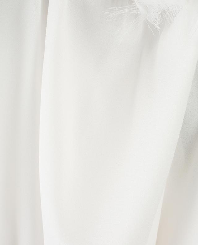 Sleeveless silk top FABIANA FILIPPI