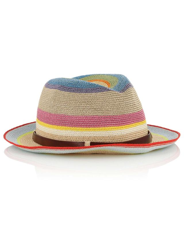 Striped Manila hemp hat GREVI
