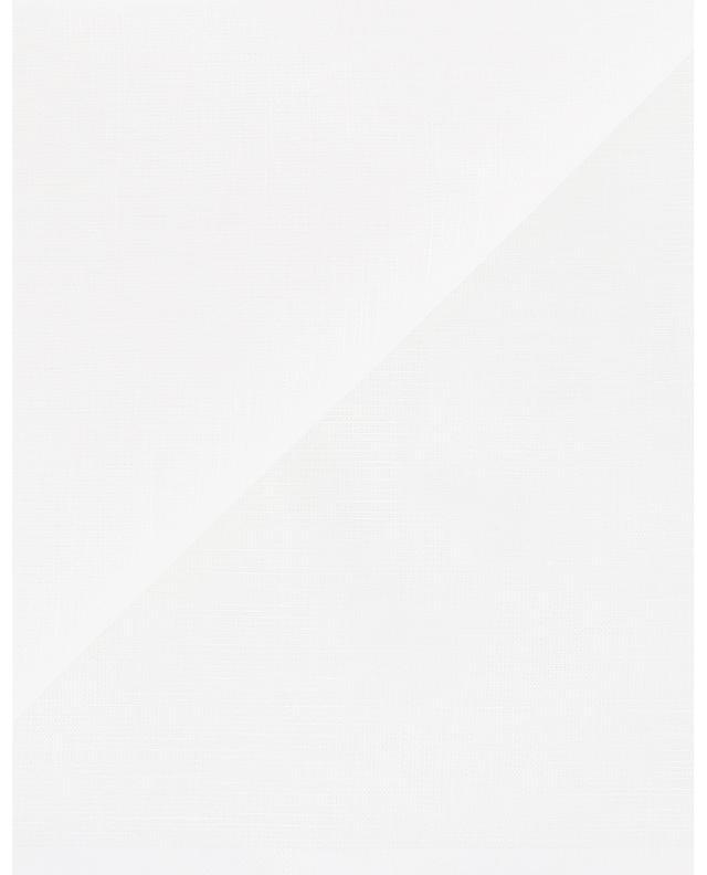 Amalfi linen and cotton pocket square SIMONNOT GODARD